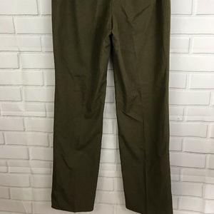 Alfani Pants - Alfani Womens Lined Dress Pants Olive Green Size 6